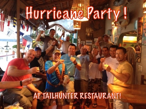HURRICANE PARTY!