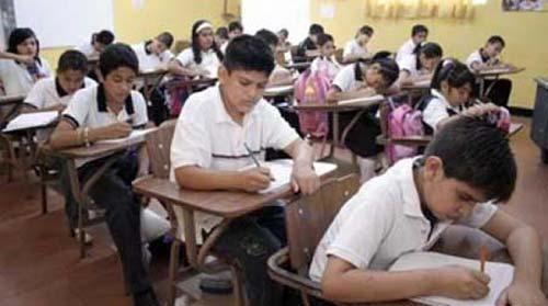 mexican-school kids class