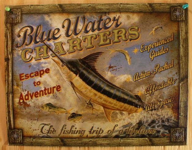inkfrog178376730-335-blue-water-charters-tin-sign-deep-sea-fishing-trip-fish-sea-food-ocean-marlin (1)