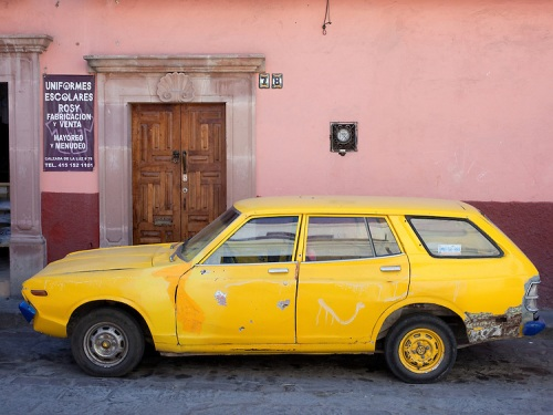 Old-Car-Mexico